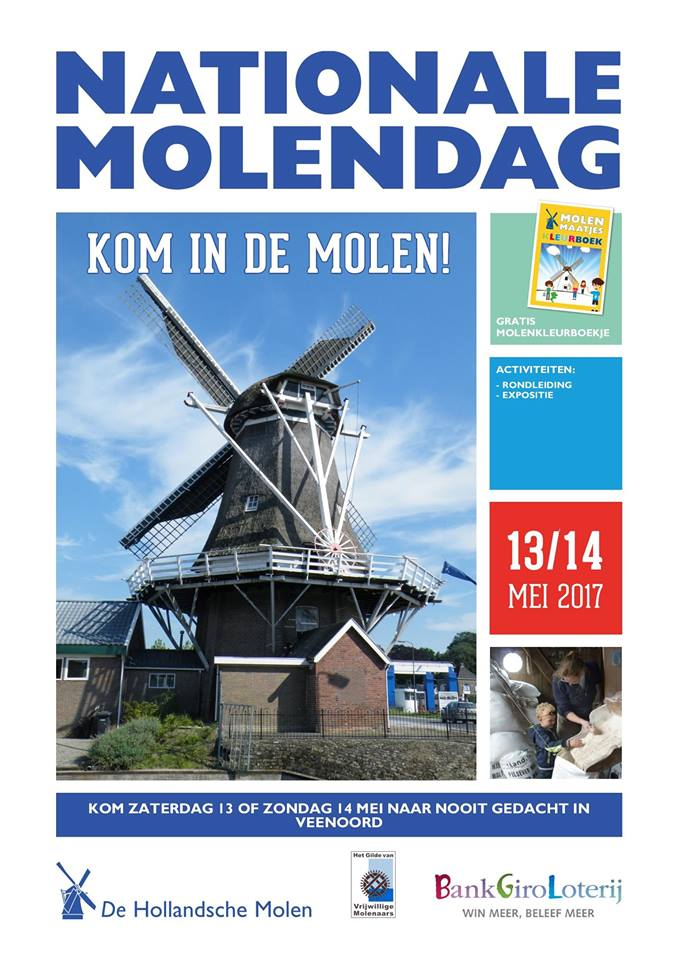 Poster Nationale Molendag 2017
