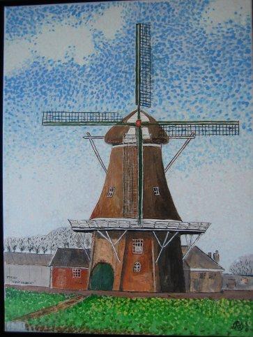 Record aantal bezoeken in molen tijdens kunstmarkt